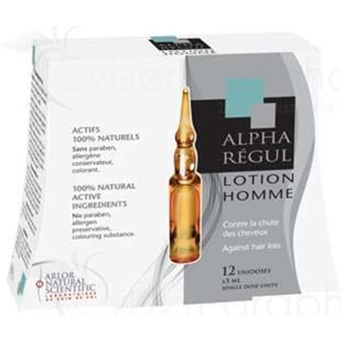 Alpharegul LOTION MEN Lotion fall to 100% natural active. - Bt 12