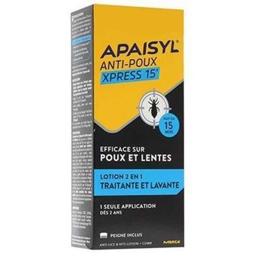 Apaisyl Lice lotion + comb 100ml