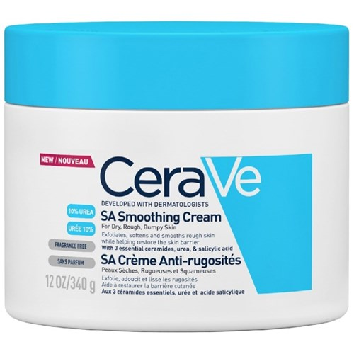 ANTI-ROUGHNESS CREAM 10% UREA AND SALICYLIC ACID 340G SA DRY SKIN CERAVE