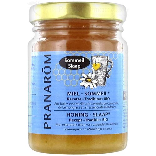 PRANAROM ORGANIC SLEEPING HONEY 100ML