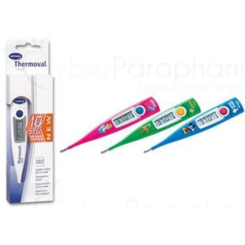 THERMOVAL RAPID, electronic clinical thermometer, quick result. white (ref. 925033) - unit