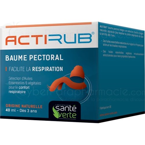 ACTIRUB BALM breathing comfort 40 ml