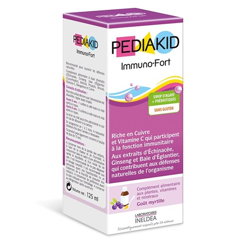 PEDIAKID IMMUNO-FORT 125ml