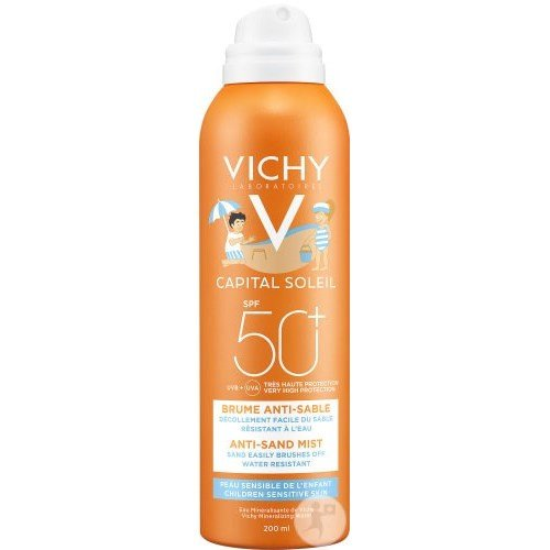 VICHY IDEAL CHILD SUN ANTI-SAND MIST SPF50 + 200ML