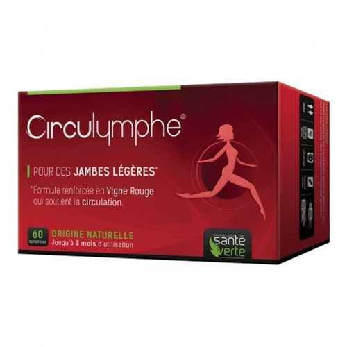 CIRCULYMPHE venous system 60 tablets
