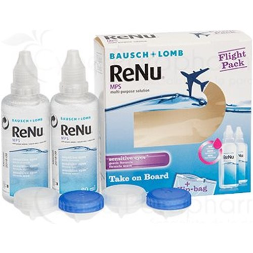 RENU MPS, SPECIAL FLIGHT, Multi-function solution for sensitive eyes,pack 2 x 60ml