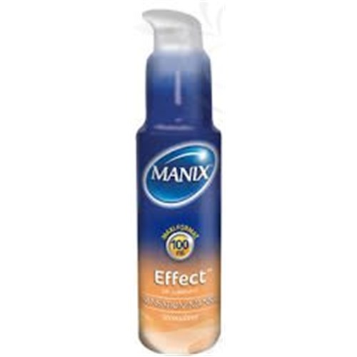 MANIX EFFECT GEL LUBRICANT Gel lubricant for intimate use, intense sensation. - 50 fl oz