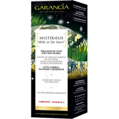 MYSTERIOUS THOUSAND AND ONE DAYS, Global anti-aging emulsion, 30ml