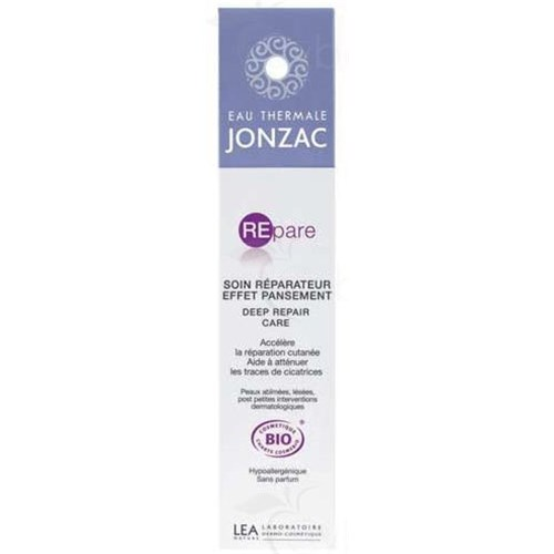 THERMAL WATER JONZAC REPAIR REPAIR CARE EFFECT DRESSING, Care reparative dressing. - 40 ml tube