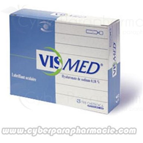 VISMED Lubricating ophthalmic solution 20 single dose