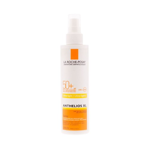 ANTHELIOS XL ULTRA-LEGER SPRAY Peau sensible SPF50+ 200 ml