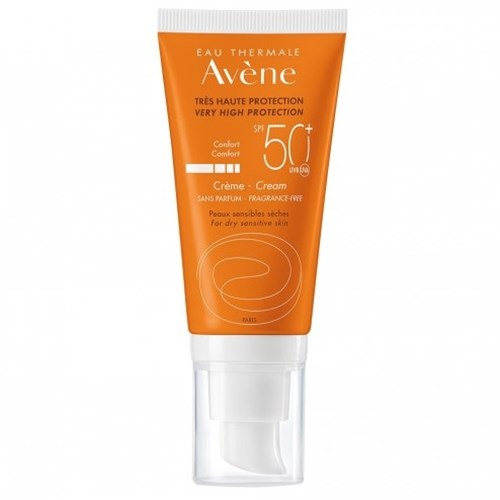 AVENE SOLAIRE CREAM SPF50 + WITHOUT PERFUME 50ML
