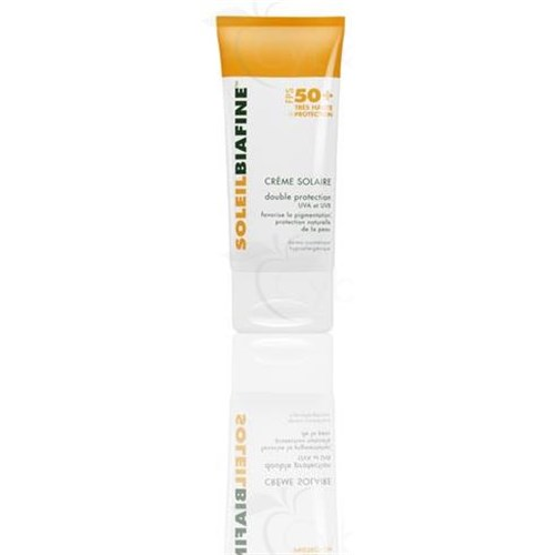 SOLEILBIAFINE CREAM SPF 50 +, very high protection Sunscreen, SPF 50 +. - 50 ml tube