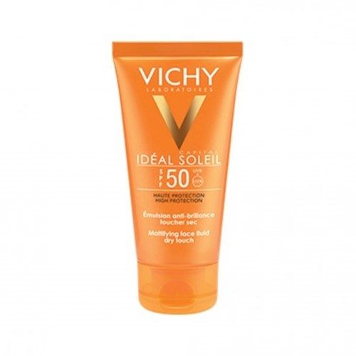 VICHY IDEAL SOLEIL ANTI BRILLANCE EMULSION DRY TOUCH SPF50 50ML