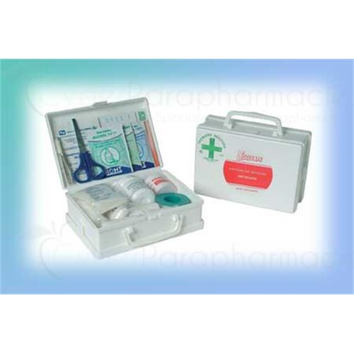 ASEP ARTISANS, First aid kit in rigid plastic, Polypro quality, full - unit