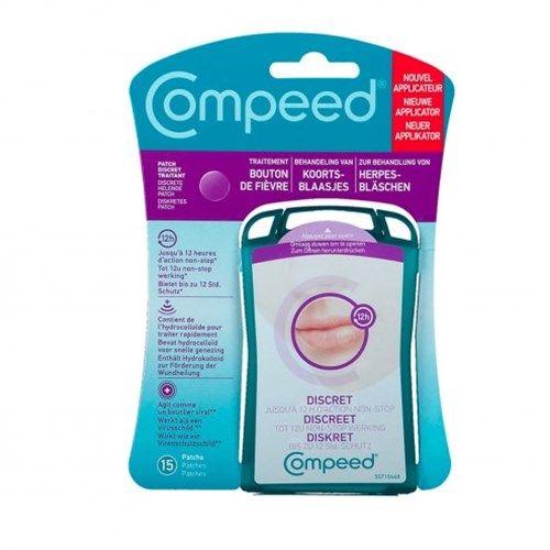 Compeed Patch Discreet Fever Button box of 15