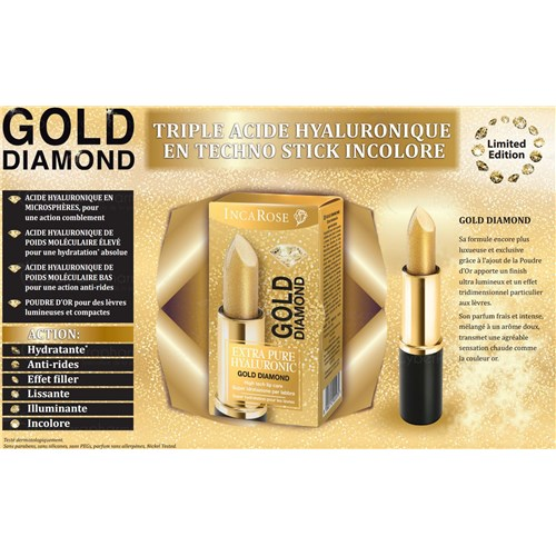 EXTRA PURE GOLD DIAMOND Stick lèvre 5ml