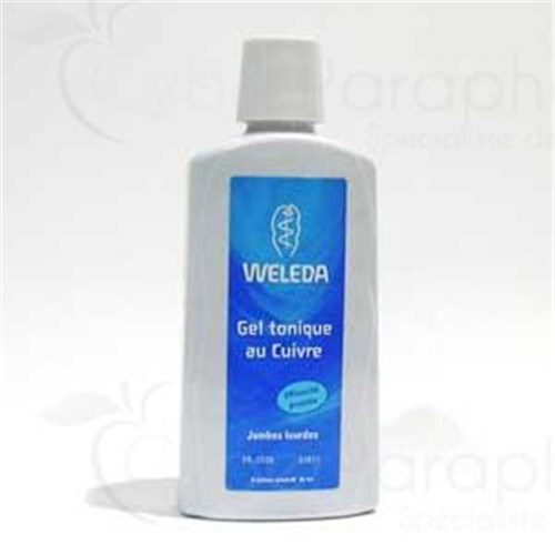 WELEDA BODY CARE GEL Gel toned copper body for legs. - Fl 200 ml