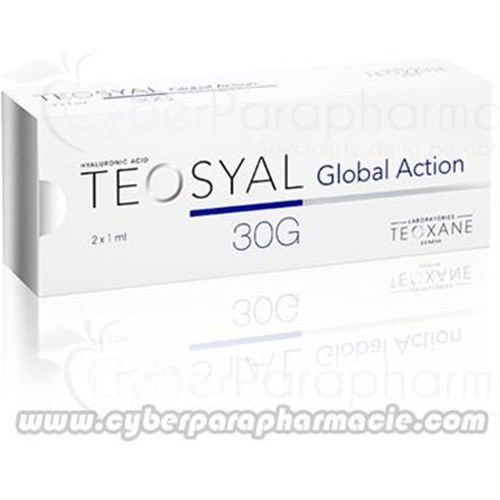 TEOSYAL GLOBAL ACTION hyaluronic acid (2x1ml)