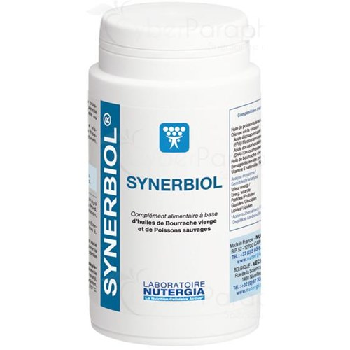 SYNERBIOL, capsule, food supplement based on wild fish oil. - Bt 100