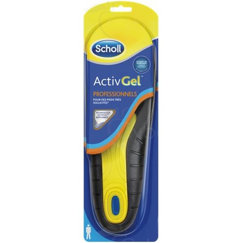 SCHOLL InsolesActivGel ™ Professionals Men