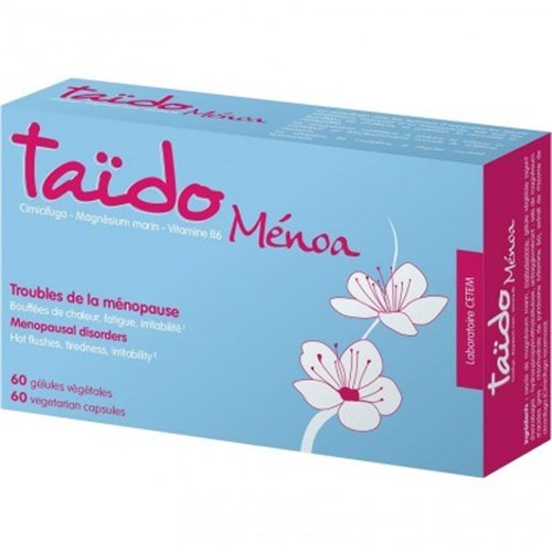 MENOA MENOPAUSE DISORDERS 60 TAÏDO VEGETABLE CAPSULES