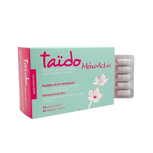 MENOACTIV MENOPAUSE DISORDERS 60 TAIDO VEGETABLE CAPSULES