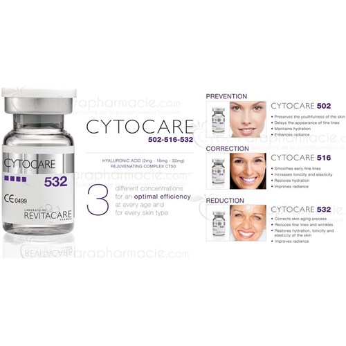 CYTOCARE 502 Acide hyaluronique (5x5ml)