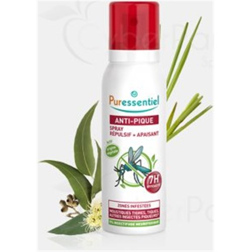 ANTI-PIQUE SPRAY Répulsif LOT DE DEUX (2 x 75 ml)