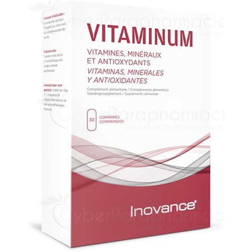 VITAMINUM, Dynamism Reduces Fatigue, 30 Tablets