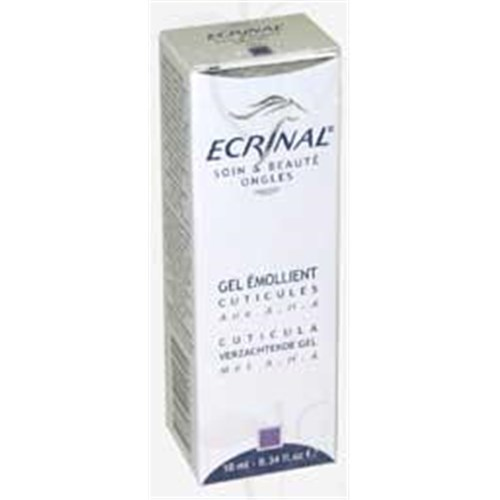 ECRINAL NAILS, Gel Manicure emollient with AHA and glycerin. - 10 ml tube