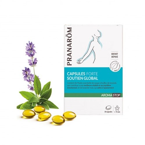 CAPSULES STRONG GLOBAL SUPPORT 30 CAPSULES AROMASTOP PRANAROM