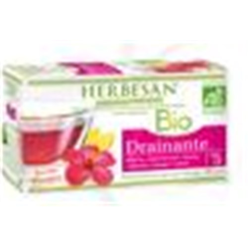 Herbesan INFUSION BIO DRAINAGE No. 5 Mixture of plants for herbal tea, tea bags. - Bt 20
