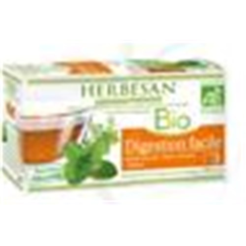 Herbesan INFUSION BIO EASY DIGESTION # 3, Mixture of plants for herbal tea, tea bags. - Bt 20