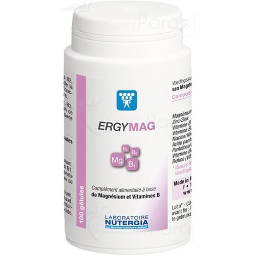 ERGYMAG Capsule mineralizing and alkalizing dietary supplement. - Bt 90