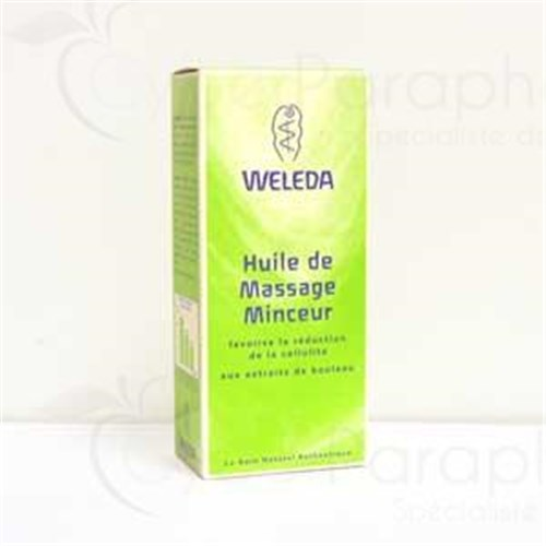 Weleda BIRCH OIL DRY SLIMMING, dry oil slimming extract of birch. - Fl 100 ml