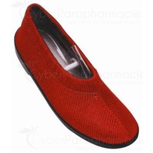 MAILLA BALLERINA RED closed shoe relaxation and comfort for women - pair