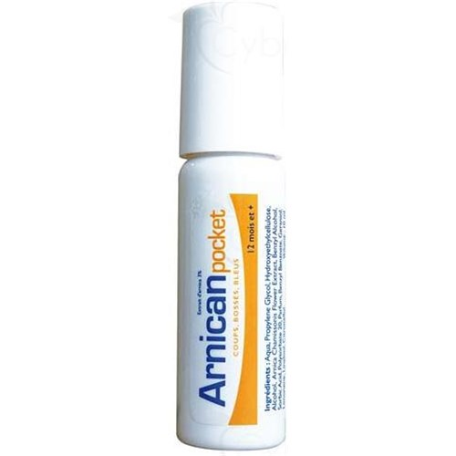 Arnican POCKET, Roll'on arnica extract 3%. - 10 ml roll-on