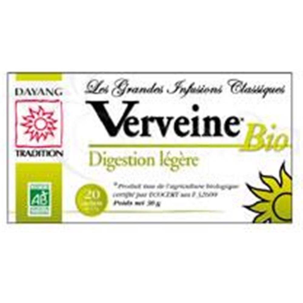 DAYANG BREWING CLASSIC BIO VERVEINE Leaf verbena tea bags  - Bt 20