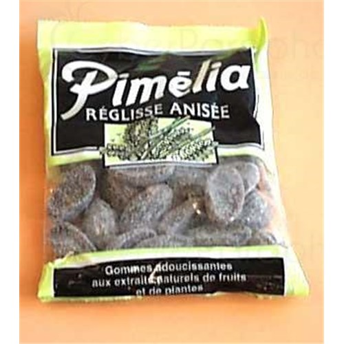 Pimelia LICORICE aniseed, Gum soothing, licorice anise. - 110 g bag
