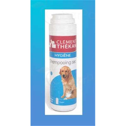 SHAMPOO SEC Clement Thekan, dry shampoo for cats and dogs. - Bt 80 g