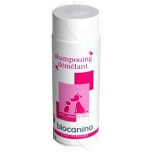 SHAMPOO CONDITIONER Biocanina, shampoo conditioner and polish for dogs and cats with long hair. 200 ml bottle - unit