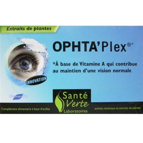 OPHTA'PLEX maintenance of normal vision 30 tablets