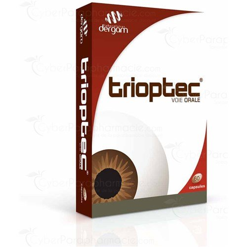 TRIOPTEC, Capsule dietary supplement eyepiece. - Bt 60