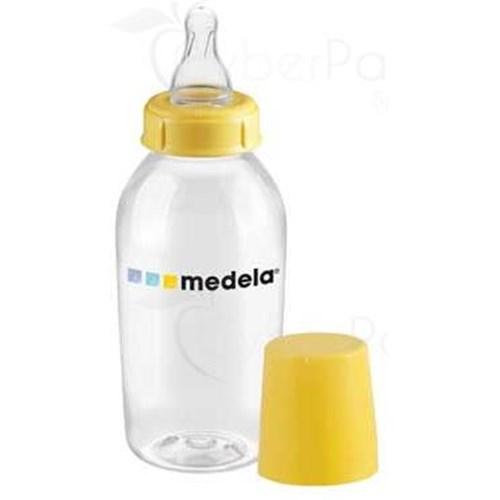 MEDELA BOTTLE 250 ml, full bottle screw plastic, BPA-free - Unit