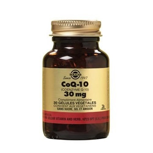 CoQ-10 (Coenzyme Q-10) 30 mg 30 vegetable capsules